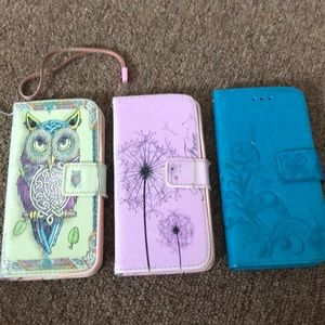Accessories - 3 eye phone cases 6s